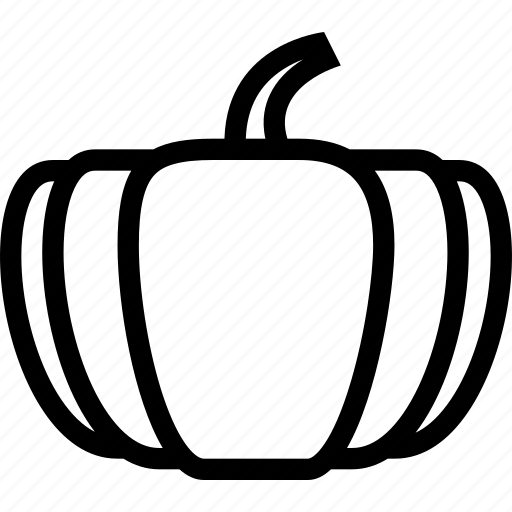 food, fruit, grocery store, meat, pumpkin, vegetable icon