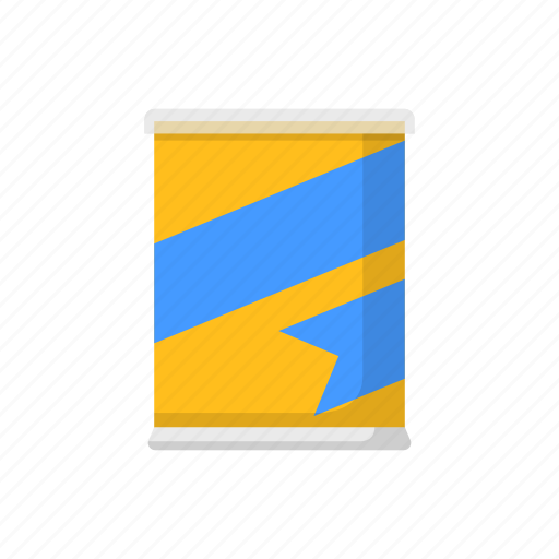 canned, color, food, packaging icon