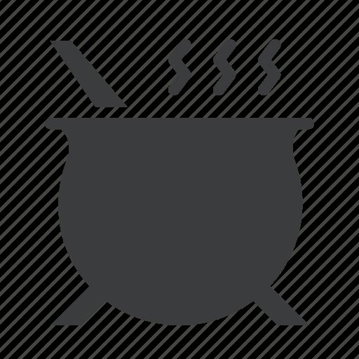 cauldron, cook, death, halloween, poison, potion, soup icon