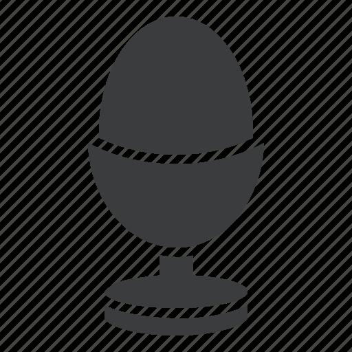 boiled, egg, food icon