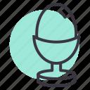 boiled, egg, food, restaurant