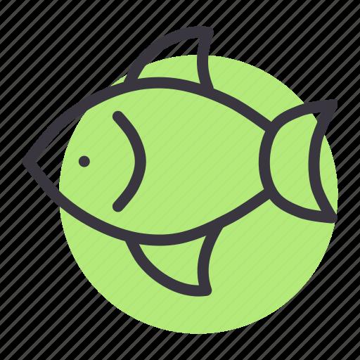 aquatic, fish, food, marine, pomfret, seafood icon