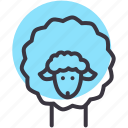 cattle, farm, herd, lamb, livestock, sheep, wool icon