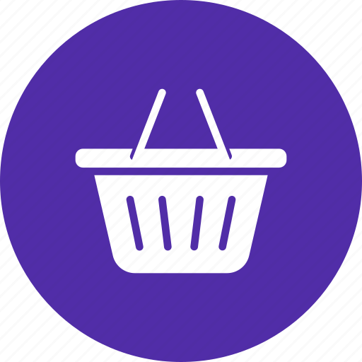 basket, carry, cart, mall, shopping, store, supermarket icon