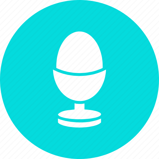 boiled, egg, food icon
