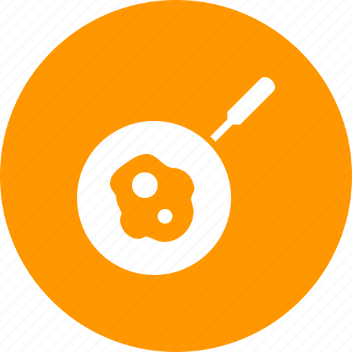 breakfast, cook, egg, food, fry, meal, skillet icon