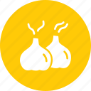 aroma, condiment, cook, food, garlic, seasoning, spice icon