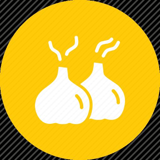 aroma, condiment, cook, food, garlic, seasoning, spice icon
