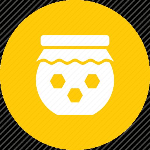 bee, bottle, farm, honey, jar, sweet icon