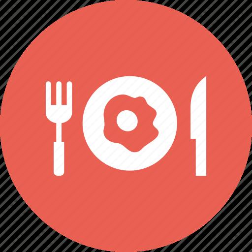 breakfast, dinner, egg, lunch, meal, omelette, restaurant icon