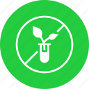 banned, food, gmo, natural, non, organic, prohibited icon