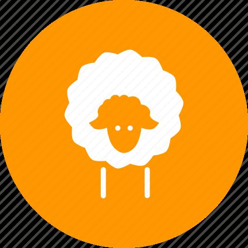 cattle, farm, herd, lamb, livestock, sheep, wool icon
