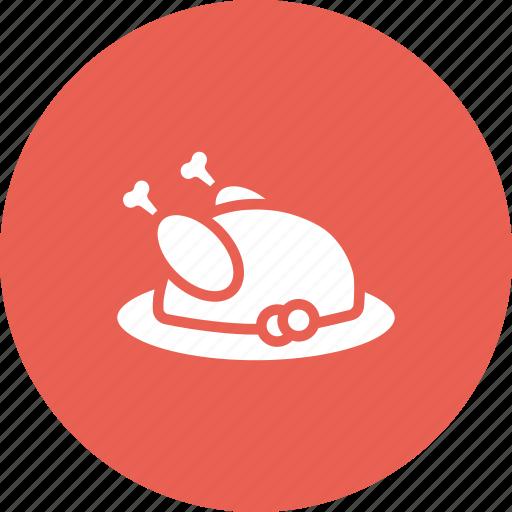 chicken, dinner, hen, meal, meat, thanksgiving, turkey icon