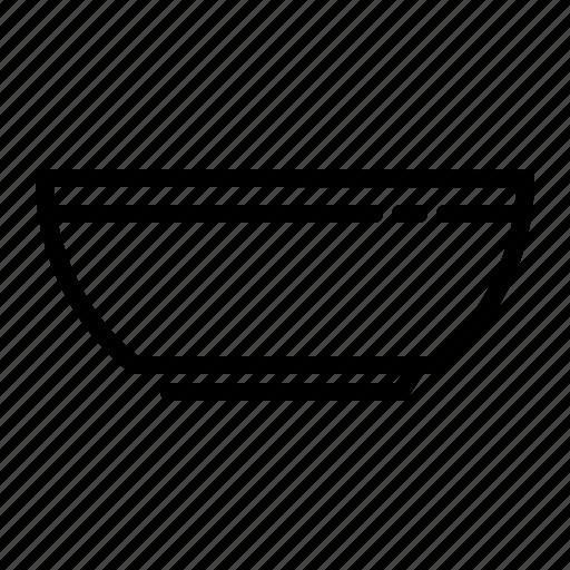 bowl, cook, kitchen, utensil icon