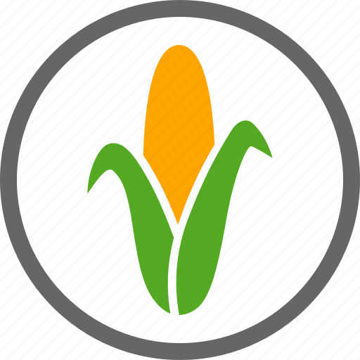 contain, contains, corn, dietary, food, label, maize icon