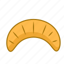 baking, cereal, croissant, flour, food, grain icon