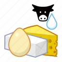 food, dairy icon