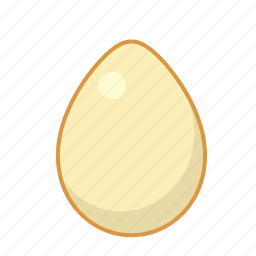 chicken, dairy, egg, eggs, food, round icon