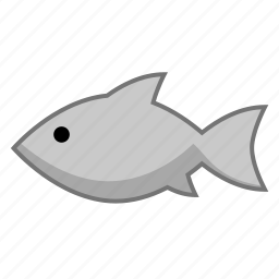 fish, food, shark icon