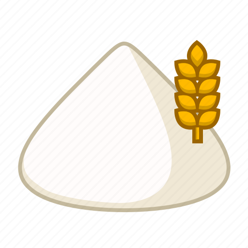 baking, cereal, flour, food, grain, rye, wheat icon