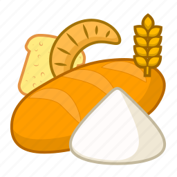 baking, flour, food, products icon