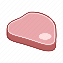 beef, food, lamb, meat, pork, veal icon