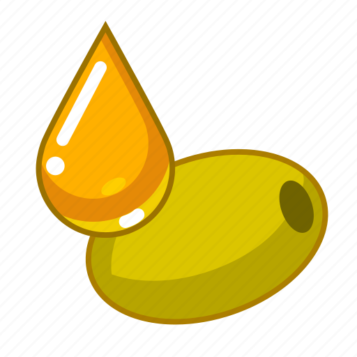 food, from, oil, olives icon