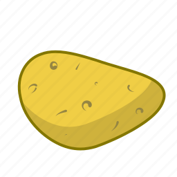 chips, food, potato, vegetable icon