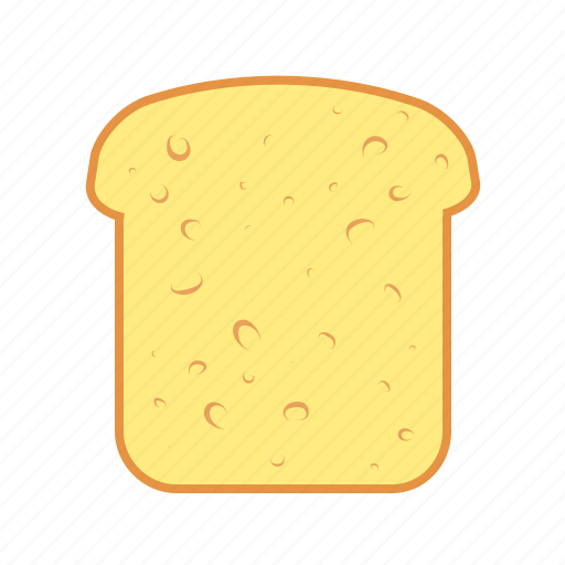 baking, bread, cereal, flour, food, toasted icon
