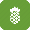 ananas, fresh, fruit, healthy, pineapple, sweet icon