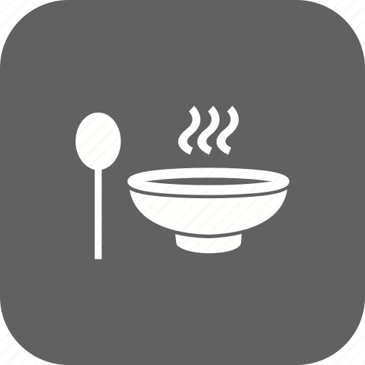 pot, soup, spoon icon