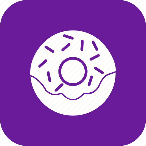 donut, doughnut, snack icon