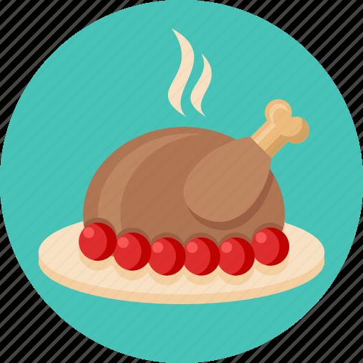 chicken, food, turkey icon