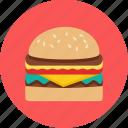 food, hamburger, fastfood