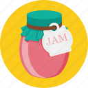 berries, food, jam icon