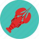 food, lobster, seafood icon