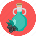 food, oil, olive icon