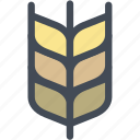 farm, food, gluten, grain, wheat icon