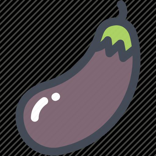 eggplant, food, garden, purple, vegetable icon