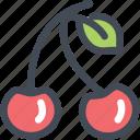 cherries, cherry, food, fruit, nutrition