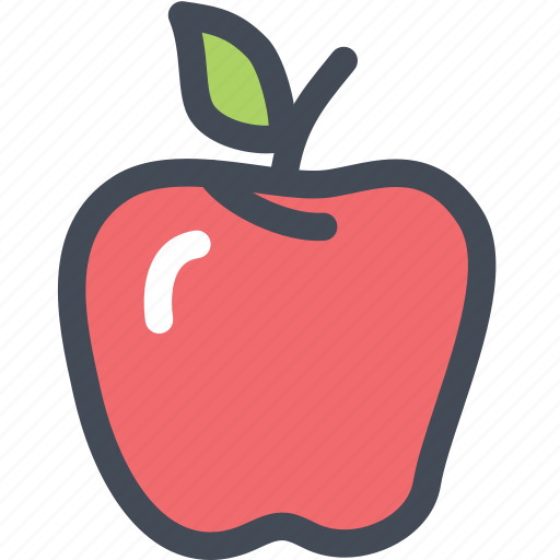 apple, food, fruit, green apple, red apple, vegetable icon
