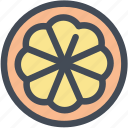 citrus, food, fruit, orange, orange slice, oranges icon