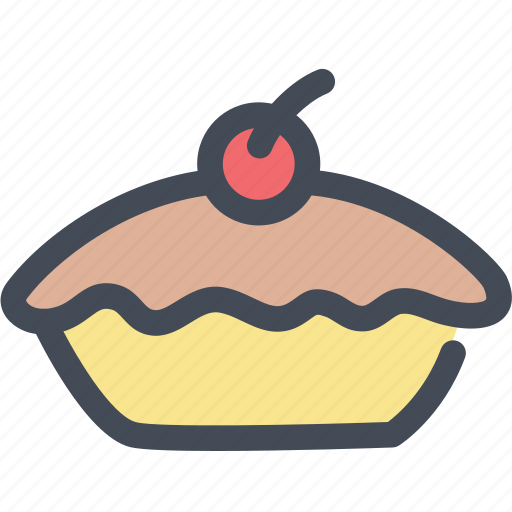 apple pie, bakery, dessert, food, pie icon