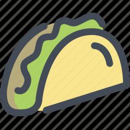 burrito, eat, fastfood, food, taco icon