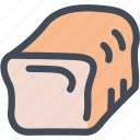 bakery, bread, food, market, shop, supermarket icon