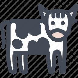 animal, beef, bull, cow, farm, food icon