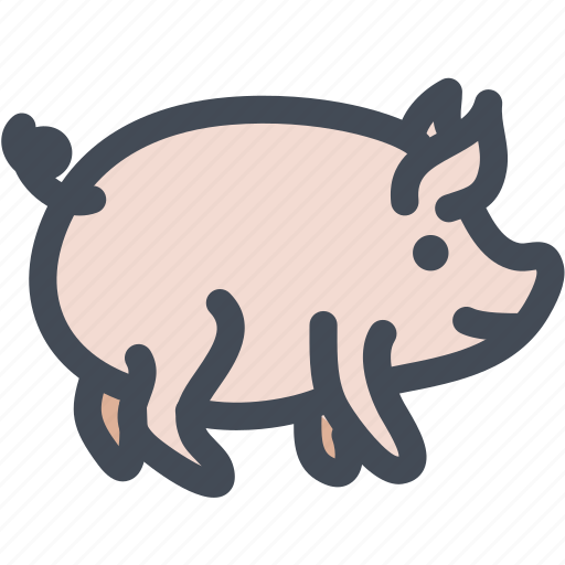 animal, food, pet, pig, pig face, piggy icon