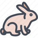 bunny, celebration, decoration, fauna, food, rabbit icon