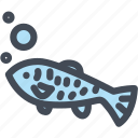 animal, fish, food, fresh, meat, ocean icon