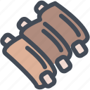 bbq, food, meat, pork, ribs icon